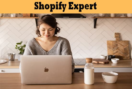 I will build shopify dropshipping store or shopify website design, FiverrBox