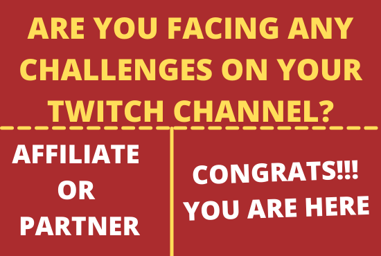 I will promote and market your twitch channel to gain organic audience, FiverrBox