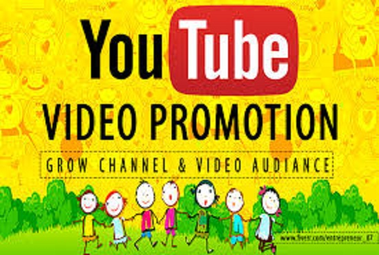 I will do youtube promotion viral to increase views and subscribers, FiverrBox