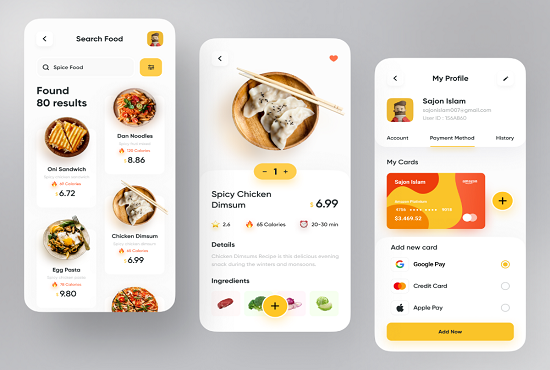 I will build food delivery app, delivery app, grocery delivery app, FiverrBox