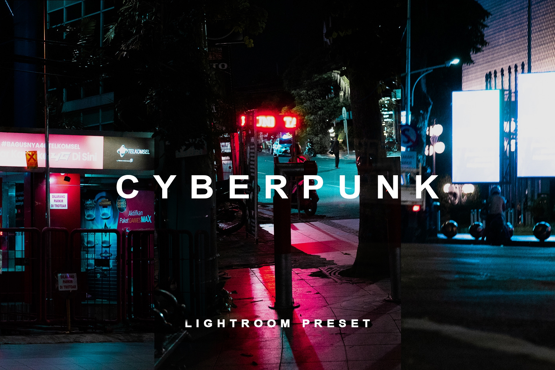I will professionally retouch your photo into the cyberpunk effect, FiverrBox