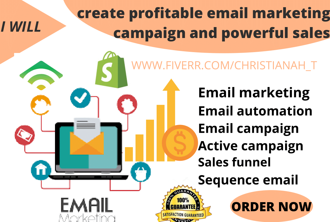 I will create profitable email marketing campaign and powerful sales, FiverrBox
