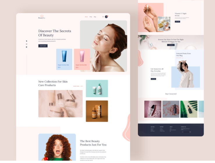 I will design 7 figure automated shopify dropshipping store, website, FiverrBox