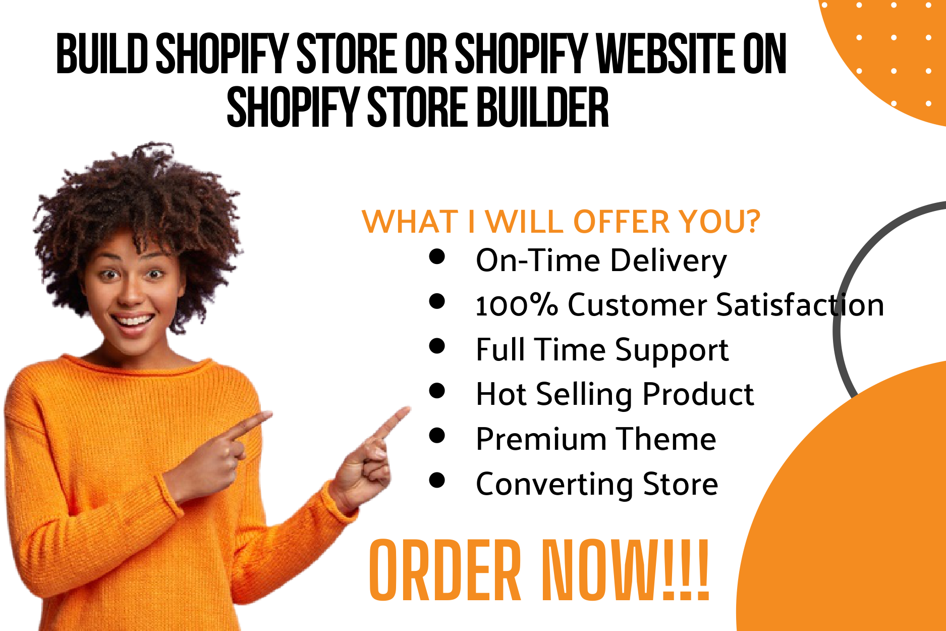 I will build shopify store or shopify website on shopify store, FiverrBox