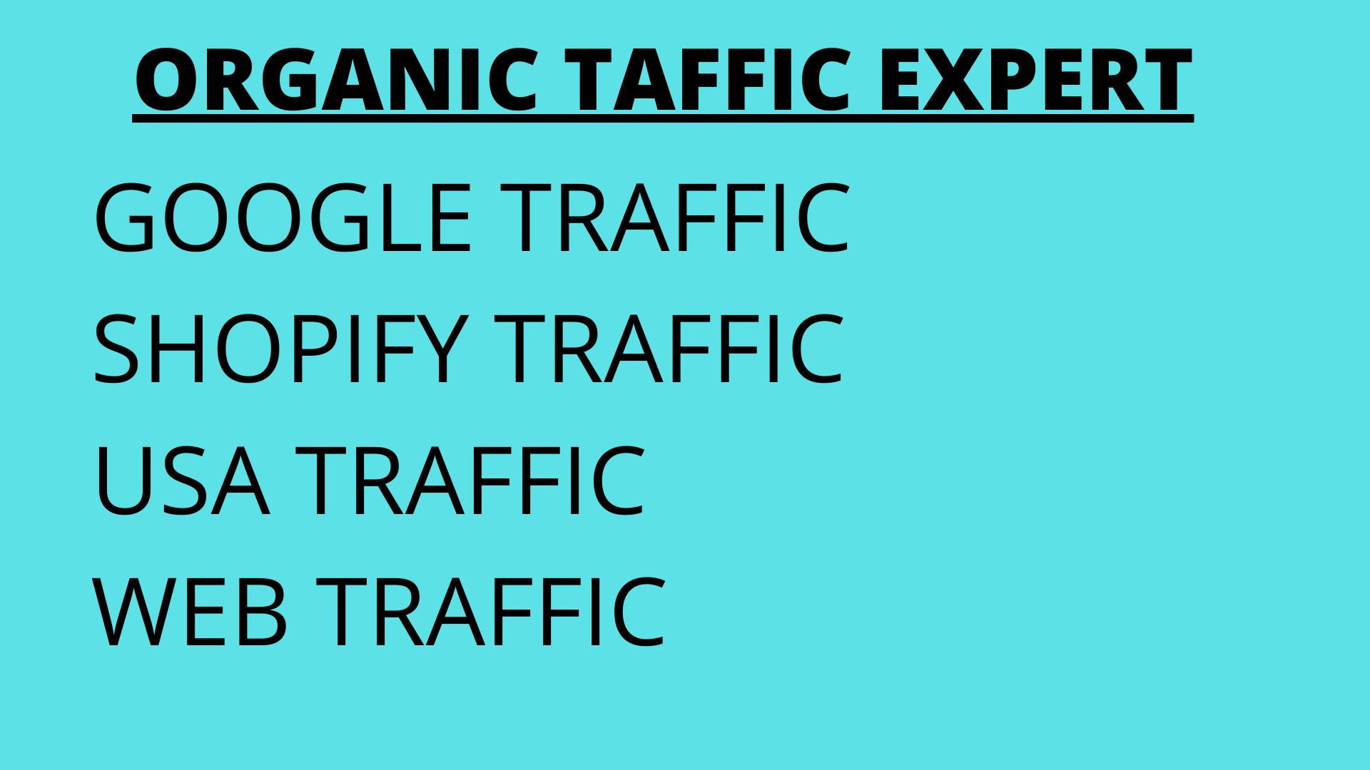 I will do organic USA web traffic, FiverrBox