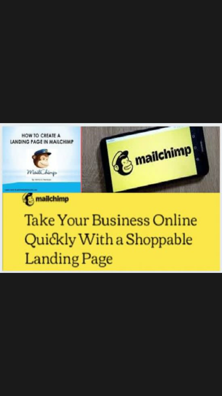 I will Do good mailchimp landing page,Email marketing,automation, FiverrBox