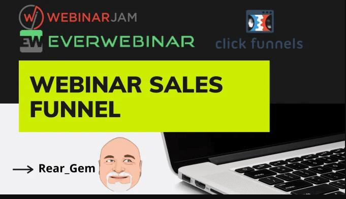 I will build webinar sales funnel on clickfunnel,zoom, webinarjam, everwebinar, samcart, FiverrBox
