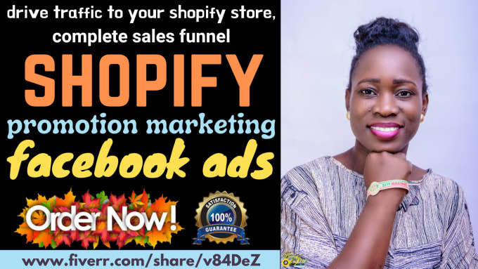 I will drive traffic to your store shopify promotion run sales funnel, FiverrBox
