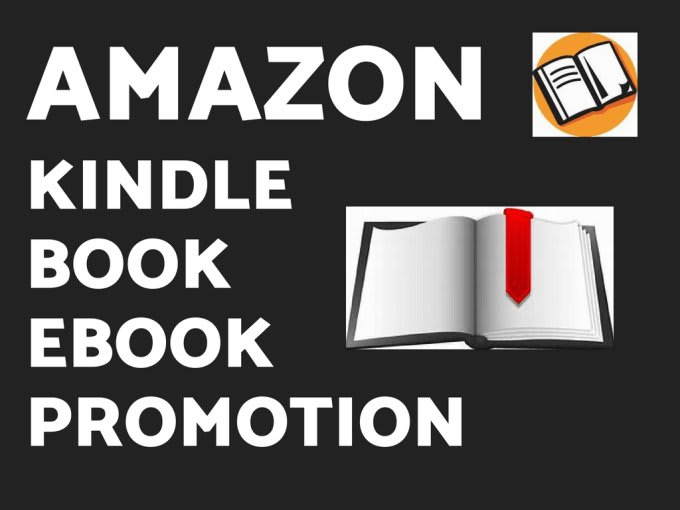 I will do organic book, ebook and kindle book promotion, FiverrBox