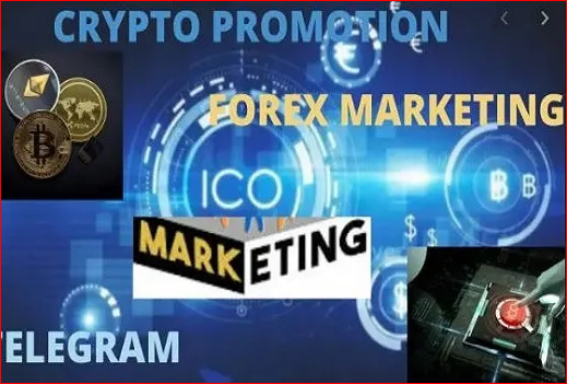 I will viral promote your telegram crypto ,forex marketing, FiverrBox