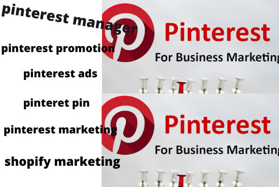 I will do pinterest ads manager pins for your business optimizationdo pinterest, FiverrBox