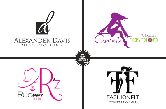 I will design a clothing brand streetwear or fashion logo, FiverrBox
