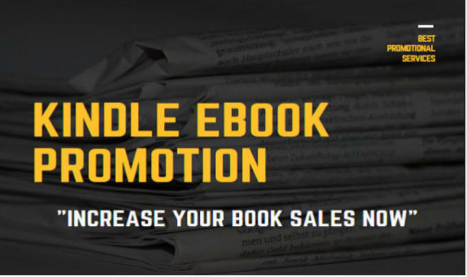 I will viral ebook promotion, amazon kindle book promotion, FiverrBox