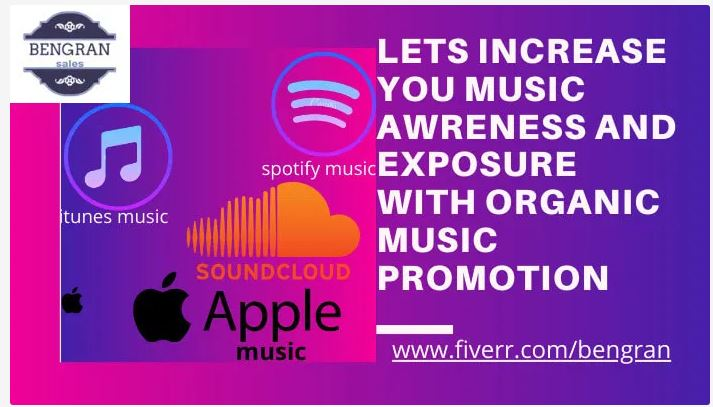 I will music promotion, podcast music promotion, do podcast music, FiverrBox