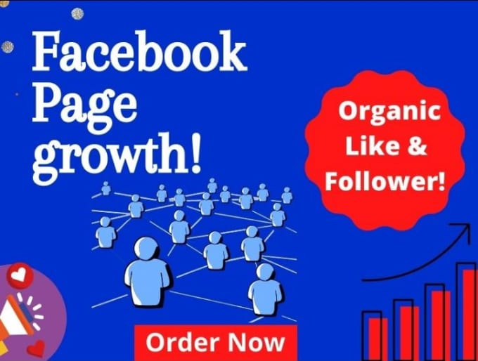 I will organically promote your facebook page to active audience, FiverrBox