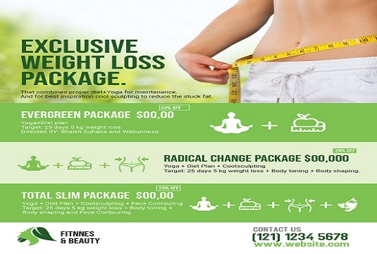 I will promote any weight loss product diet plan, health and fitness, FiverrBox