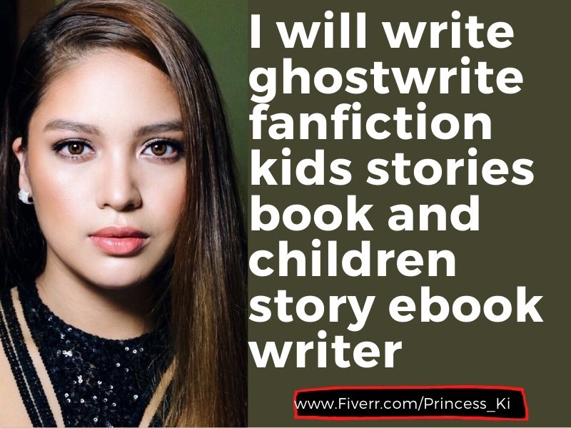 I will write ghostwrite fanfiction kids stories book and children story ebook, FiverrBox