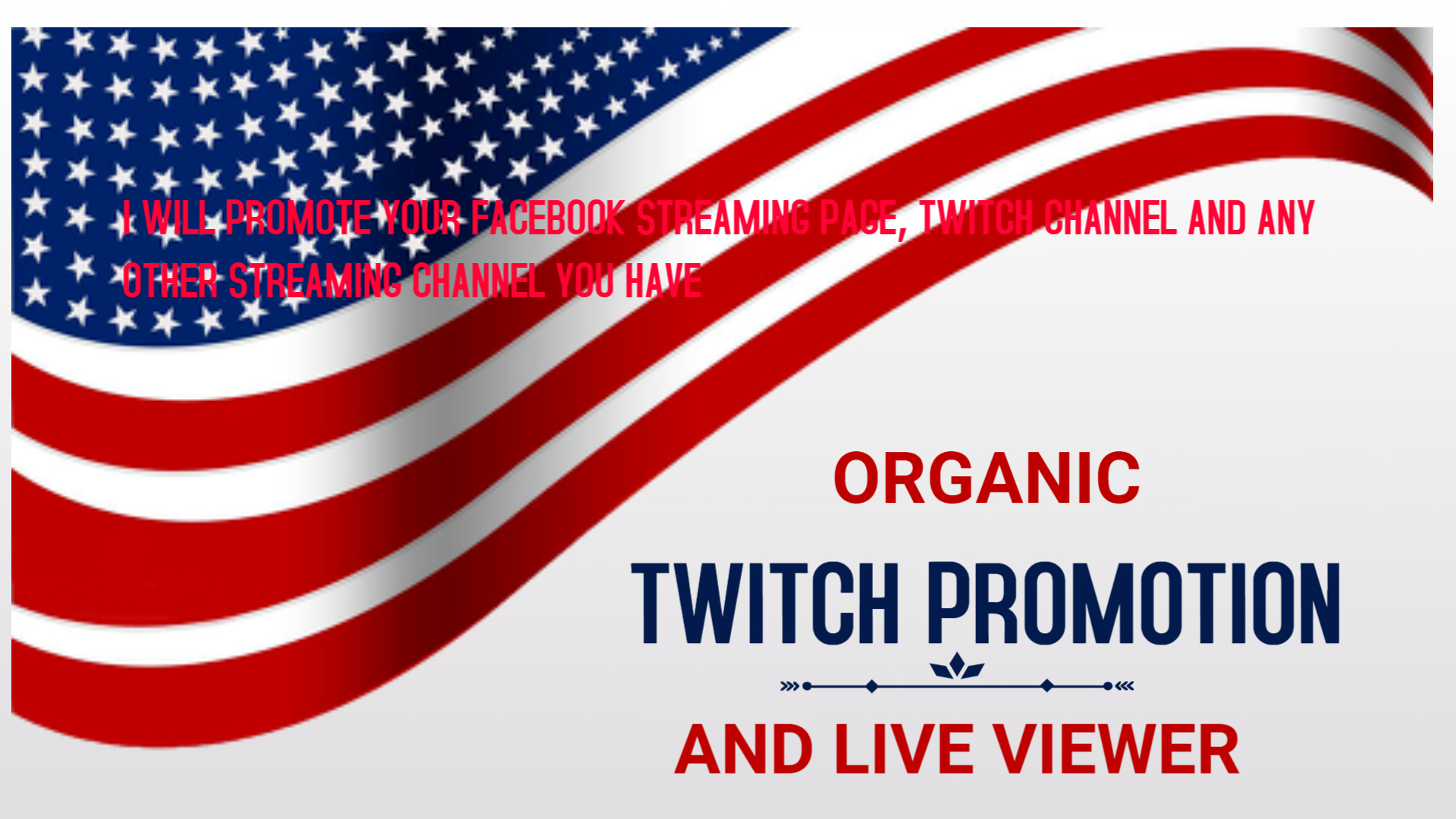 I will promote your facebook gaming page, twitch channel to over 20m, FiverrBox