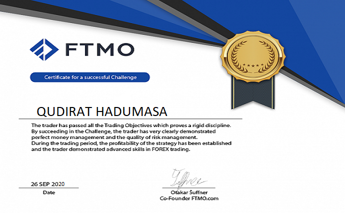 I will pass your ftmo challenge, ftmo verification, and secure your funded, FiverrBox