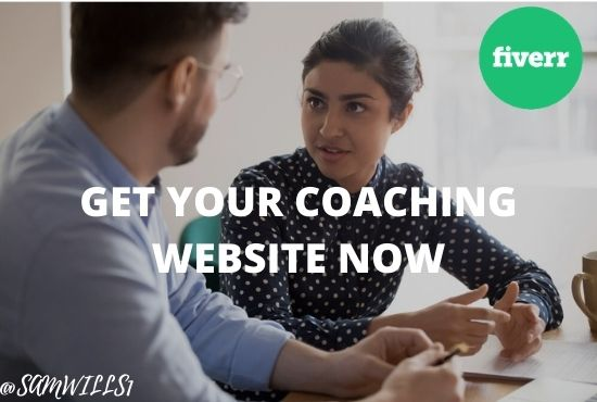I will build coaching website for your business, FiverrBox