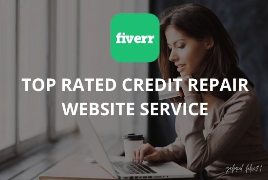 I will design credit repair website for your credit repair service, FiverrBox