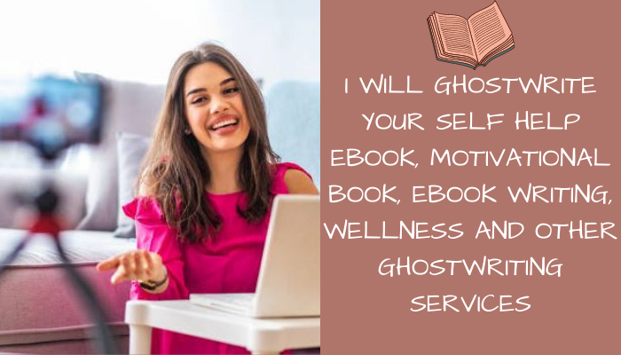 I will ghostwrite your self help ebook, ebook writing, motivational book, FiverrBox
