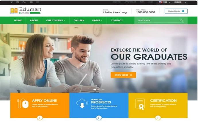 I will Design online course website Udemy learndash learnpress thinkific website, FiverrBox