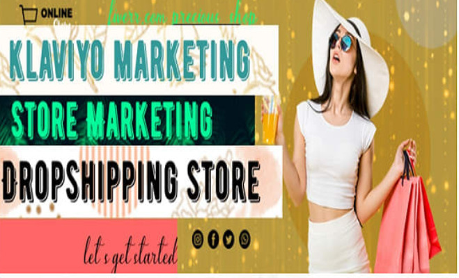 I will manage your shopify dropshipping store, upload product, list product, marketing, FiverrBox