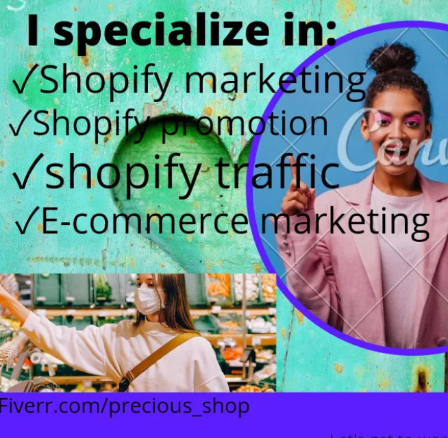 I will do shopify marketing, shopify promotion, shopify traffic, ecommerce marketing, FiverrBox