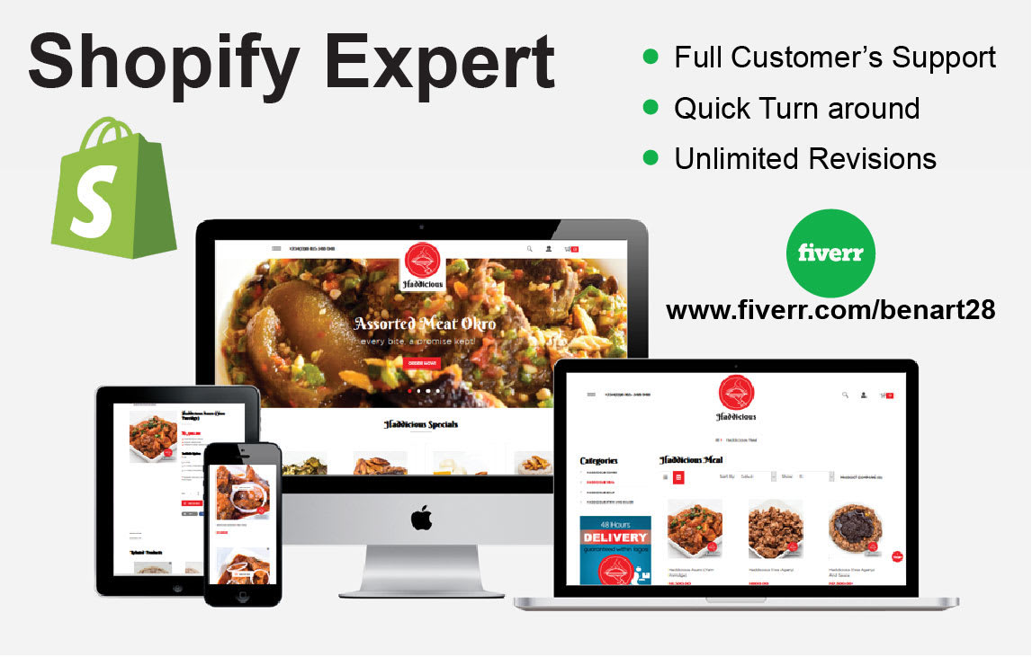 I will be your virtual assistant for shopify, FiverrBox