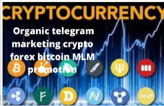I will promote your mlm, affiliate link, telegram marketing, crypto promotion, FiverrBox