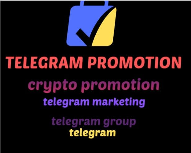 I will do telegram promotion, telegram marketing, crypto, ico and forex marketing, FiverrBox