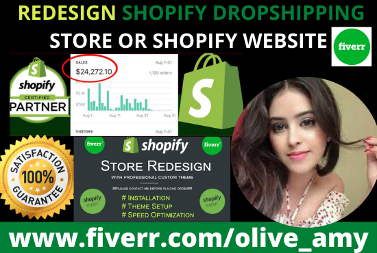 I will setup and customize your shopify store, shopify website, FiverrBox