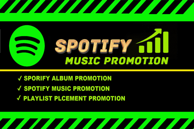 I will embed spotify music promotion on 450m playlist placement spotify album, FiverrBox