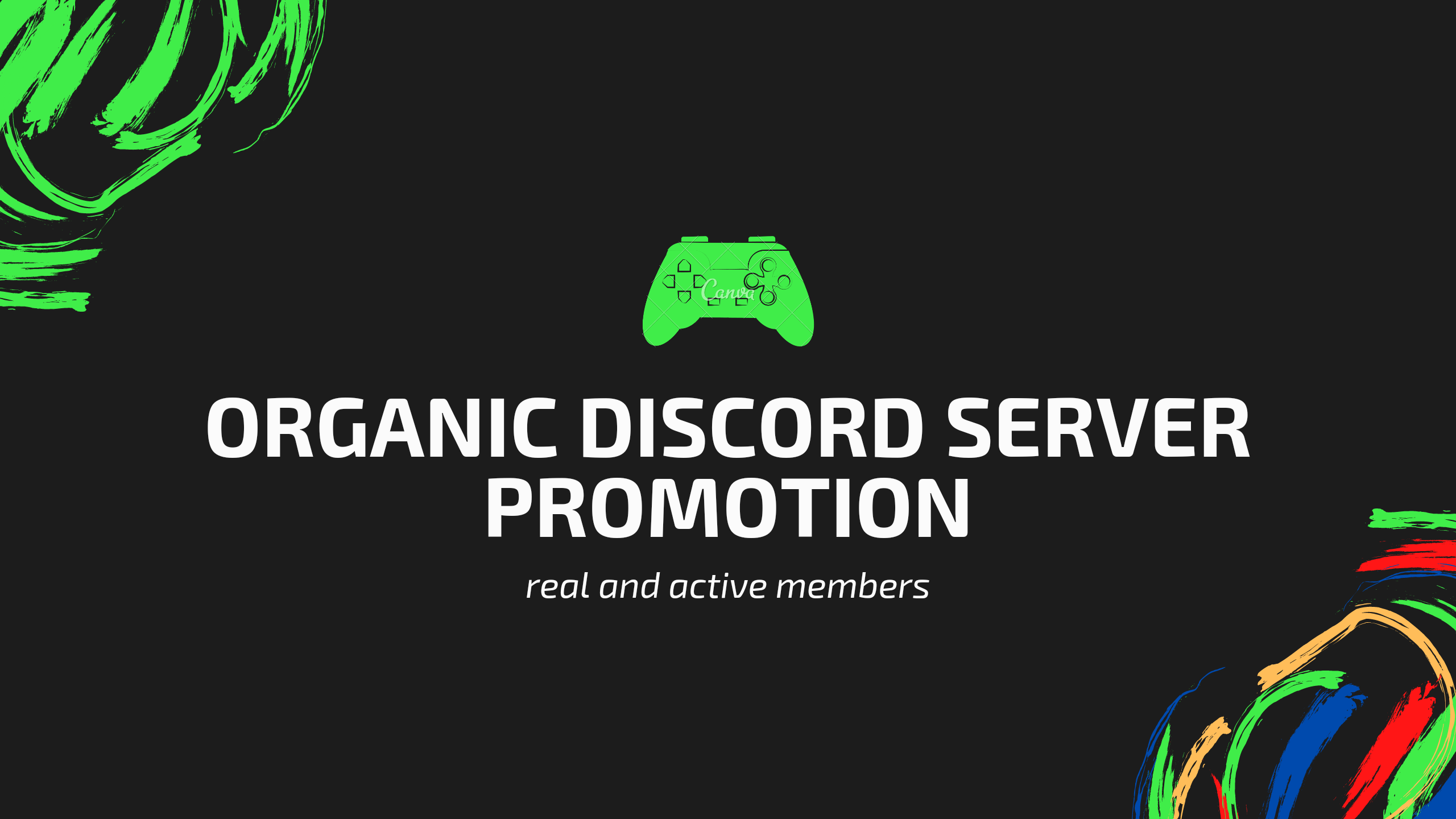 I will organically promote discord server discord server promotion, FiverrBox