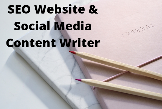 I will write SEO content for your website or social, FiverrBox