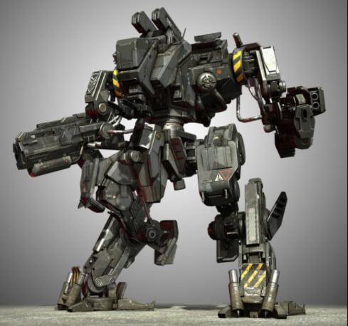I will create gundam, robot, armor, mecha illustration, FiverrBox