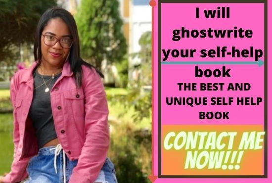 I will ghost write your self help ebook, self help book, FiverrBox