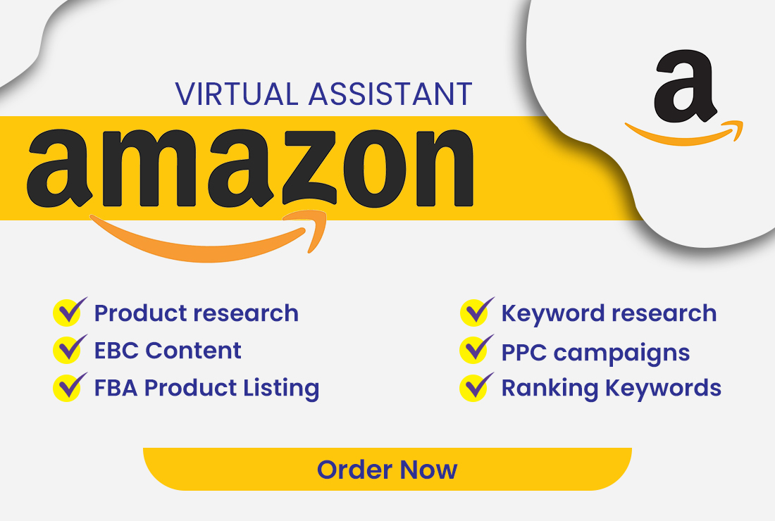 I will be a virtual assistant for amazon fba private label, FiverrBox