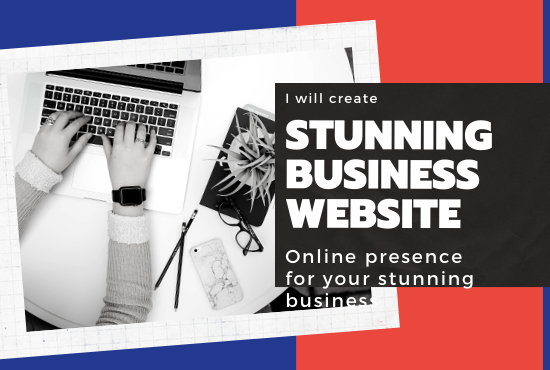 I will create stunning business wordpress website design, FiverrBox