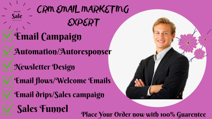 I will do klaviyo, omnisend, privy, shopify email marketing, salesfunnel, FiverrBox