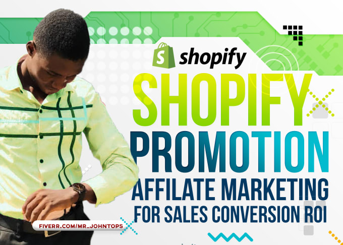 I will do Shopify marketing promotion, drive traffic and boost Shopify sales, FiverrBox