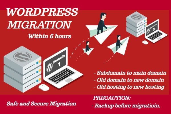 I will migrate transfer move clone or backup wordpress website, FiverrBox