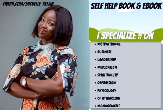 I will write self help self help book ghost writer, FiverrBox