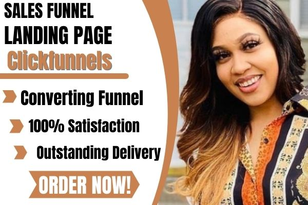 I will build high converting sales funnel, landing page in clickfunnels, FiverrBox