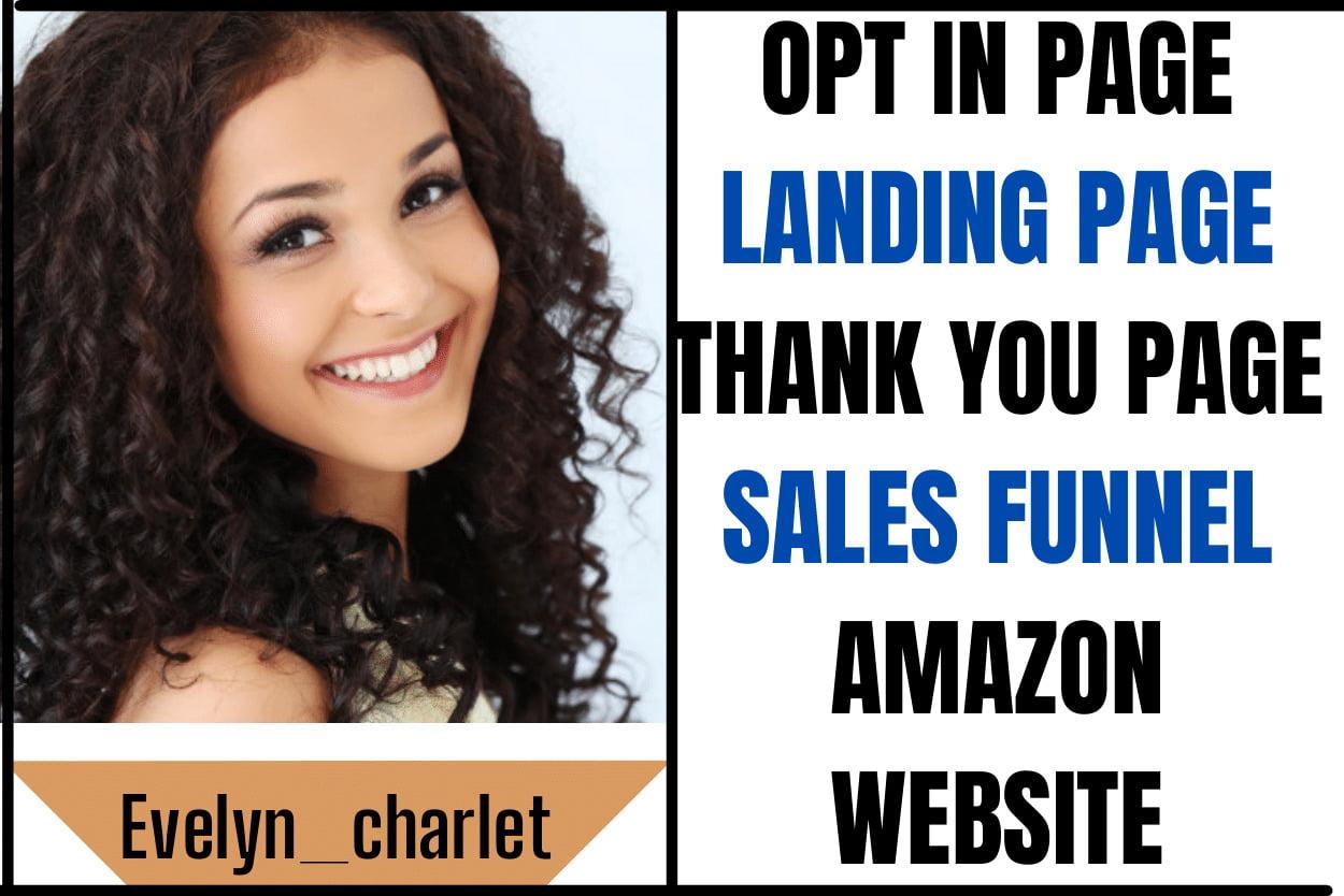 I will create amazon salesfunnel,amazon affiliate link promotion,amazon store marketing, FiverrBox