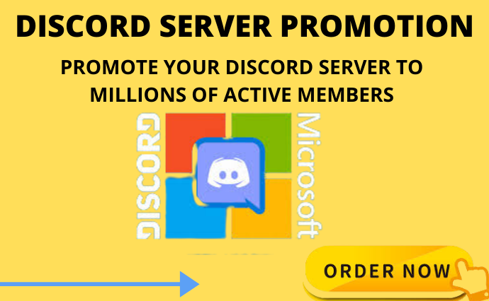 I will help you promote, share your discord server to, FiverrBox