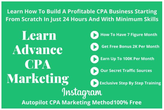 I will teach you advanced CPA marketing, FiverrBox