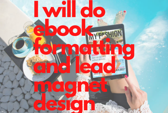 I will do ebook formatting and lead magnet design, FiverrBox