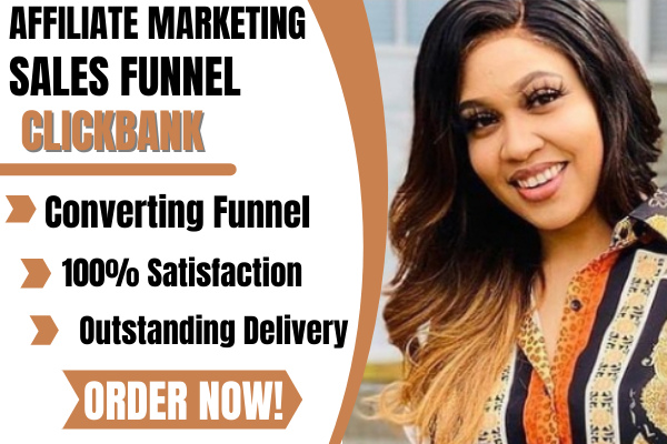 I will create clickbank sales funnel all kind of funnels in clickfunnels, FiverrBox